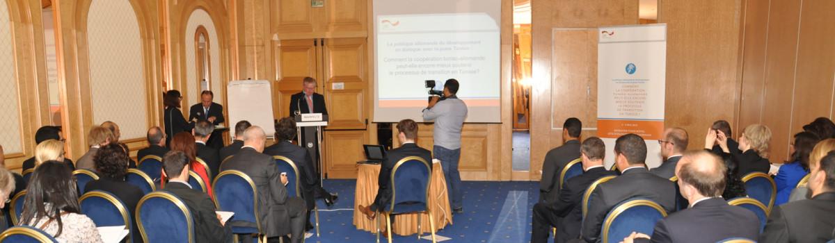 Die deutsche Entwicklungspolitik im Dialog mit dem jungen Tunesien