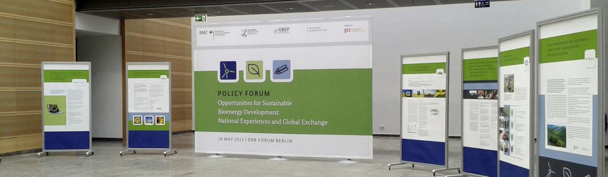 Policy Forum: Bioenergy