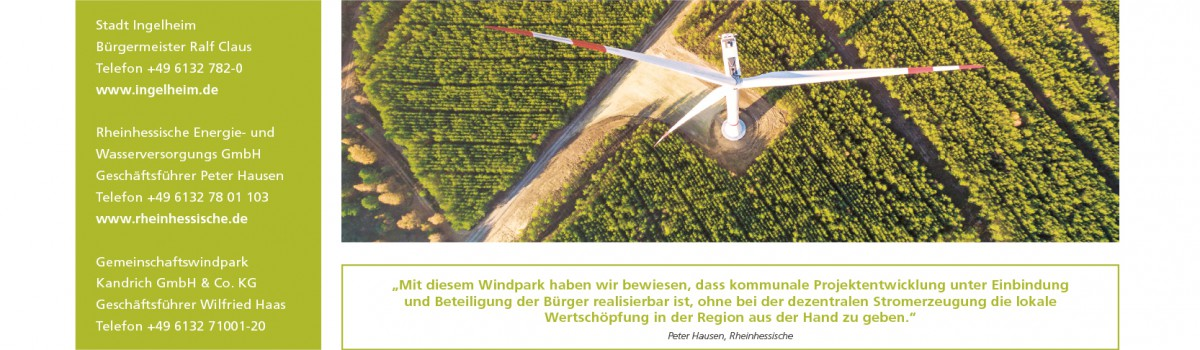 Zeitung: Wer den Wind erntet
