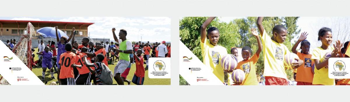 Mehr Platz für Sport – 1.000 Chancen für Afrika