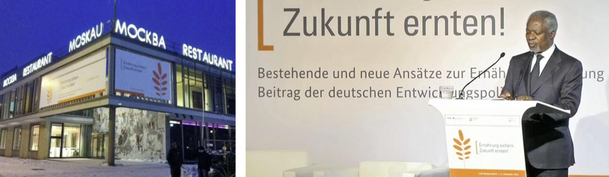 Konferenz Ernährung sichern - Zukunft erneten!