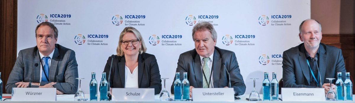 Internationale Klimakonferenz ICCA 2019 - EYES-OPEN